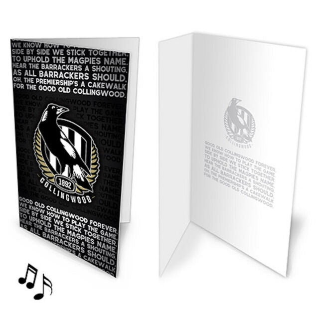 Collingwood Magpies Musical Gift card