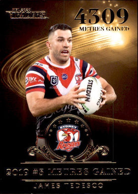 James Tedesco, Gold League Leader, 2020 TLA Traders NRL /47