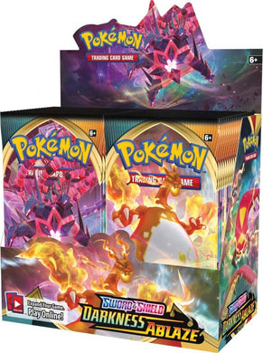 POKÉMON TCG Sword and Shield- Darkness Ablaze Booster Box