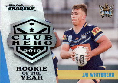 Jai Whitbread, Club Hero, 2020 TLA Traders NRL