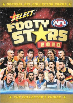 2020 Select Footy Stars AFL Base Set of 223 cards