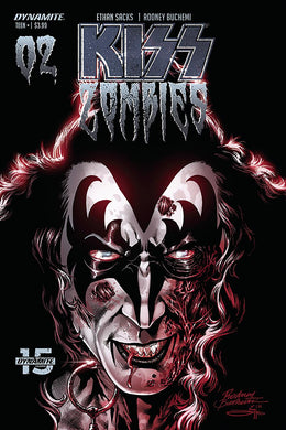 Kiss Zombies #2, Cover C Comic