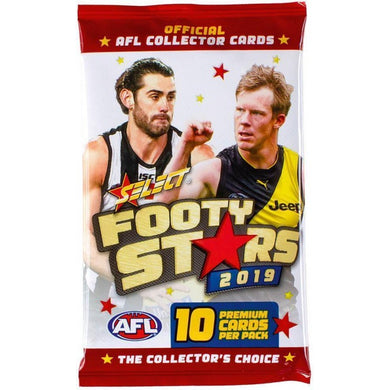 2019 Select AFL Footy Stars Packet