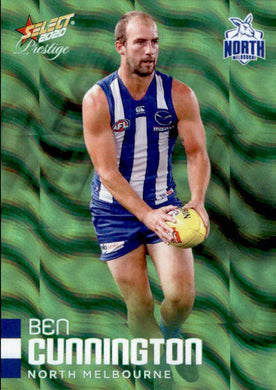 Ben Cunnington, Green Parallel, 2020 Select AFL PRESTIGE Footy Stars
