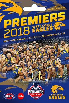 2018 Premiers West Coast Eagles Keyring