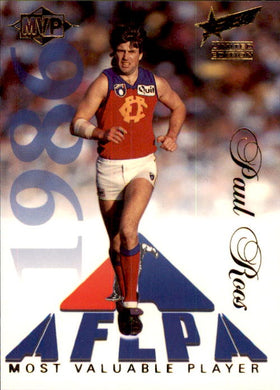 Paul Roos, MVP, 1995 Select Limited Edition AFL Sensation