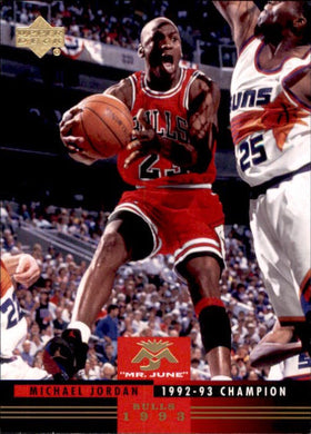 Michael Jordan, Mr June, MJ-3, 2008-09 UD Lineage Basketball NBA