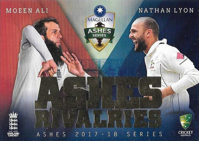 Ashes Rivalries, 2017-18 Tap'n'play The Ashes Cricket - 1 to 8 - Pick Your Card