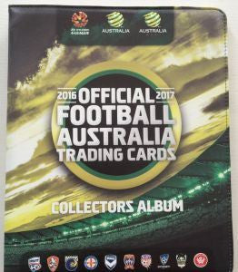 2016-17 TapnPlay A-League Soccer Set & Folder
