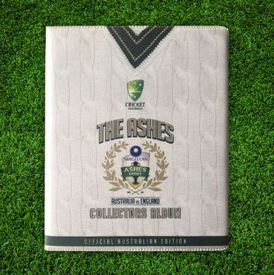 2017-18 TapnPlay The Ashes Cricket Folder