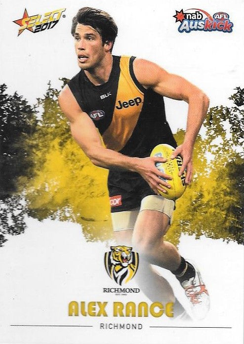 Alex Rance, Auskick, 2017 Select AFL Footy Stars