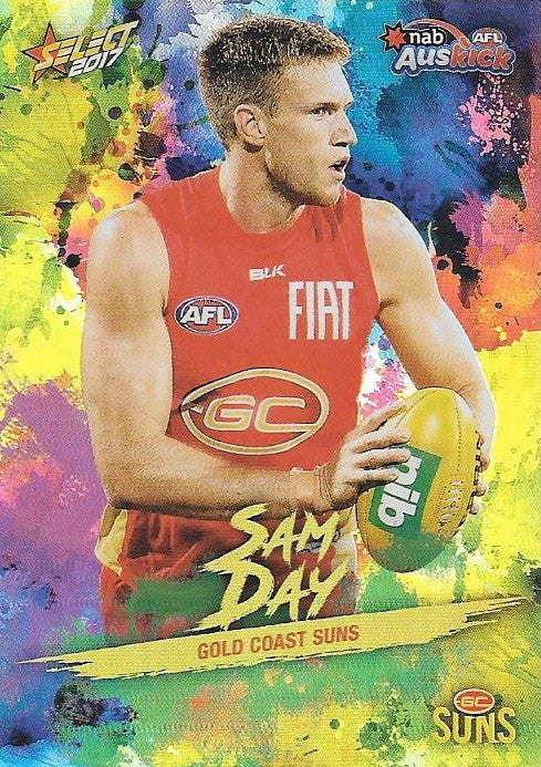 Sam Day, Auskick Holofoil, 2017 Select AFL Footy Stars