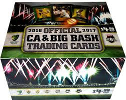 2016-17 TapnPlay BBL CA Cricket, 36 pack box