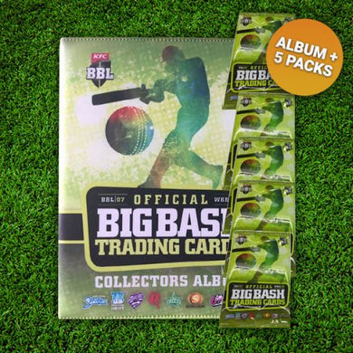 2017-18 TapnPlay BBL CA Cricket Folder & 5 Pack Starter