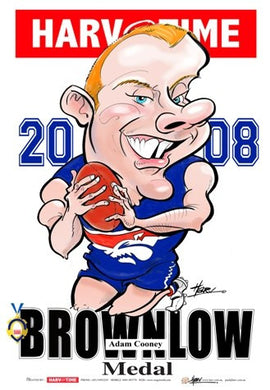 Adam Cooney, 2008 Brownlow Harv Time Poster