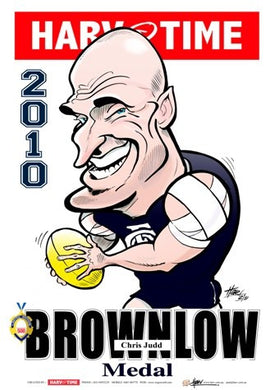 Chris Judd, 2010 Brownlow Medal, Harv Time Poster