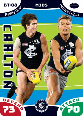 Paddy Dow & Patrick Cripps, Battle Teams, 2019 Teamcoach AFL