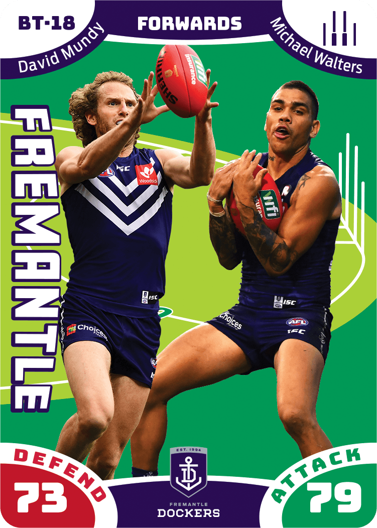 David Mundy & Michael Walters, Battle Teams, 2019 Teamcoach AFL