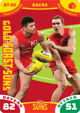 Pearce Hanley & Rory Thompson, Battle Teams, 2019 Teamcoach AFL