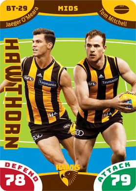 Jaeger O'Meara & Tom Mitchell, Battle Teams, 2019 Teamcoach AFL