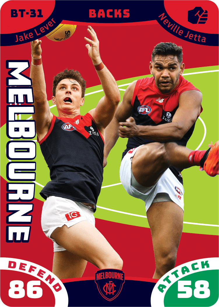 Jake Lever & Neville Jetta, Battle Teams, 2019 Teamcoach AFL