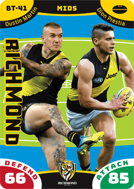 Dustin Martin & Dion Prestia, Battle Teams, 2019 Teamcoach AFL