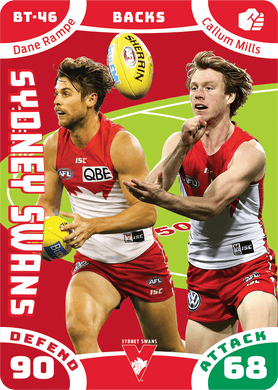 Dane Rampe & Callum Mills, Battle Teams, 2019 Teamcoach AFL