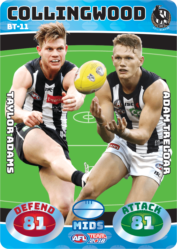 Adams & Treloar, Battle Teams, 2018 Teamcoach AFL