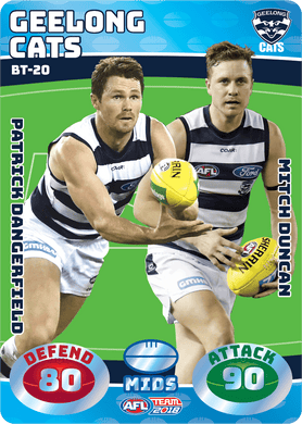 Dangerfield & Duncan, Battle Teams, 2018 Teamcoach AFL