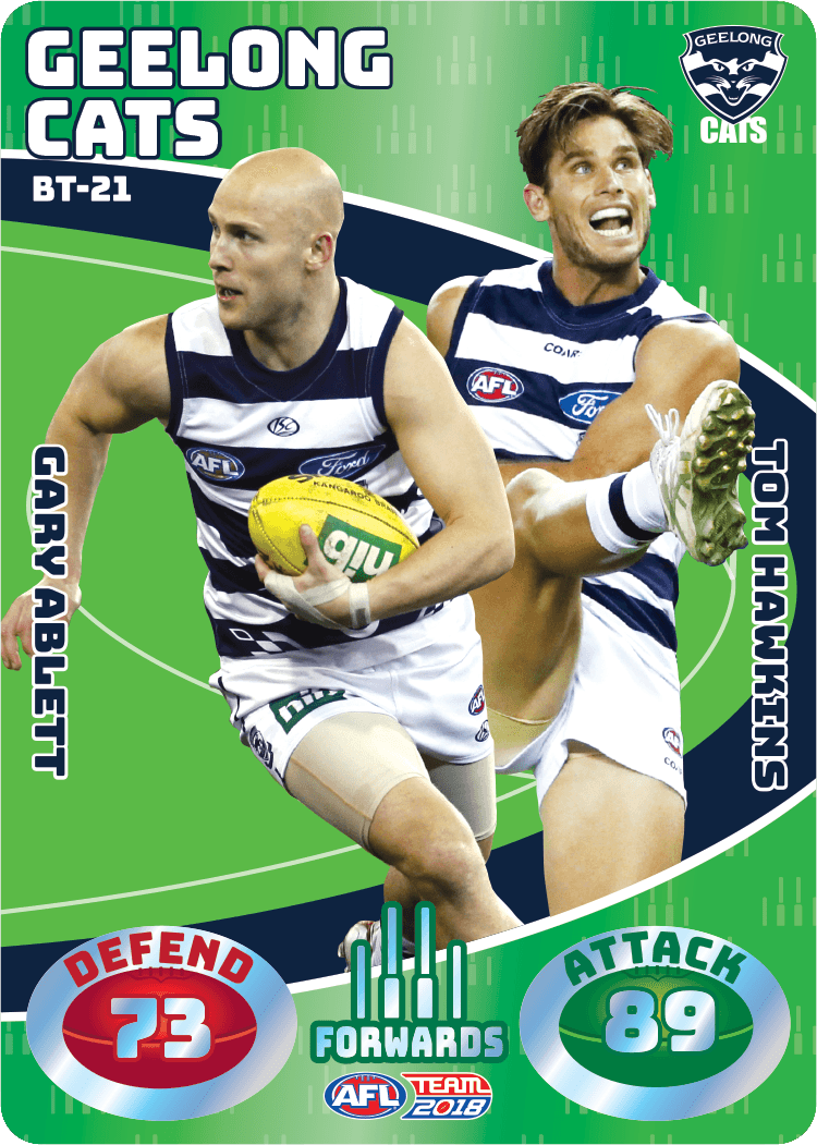 Ablett & Hawkins, Battle Teams, 2018 Teamcoach AFL