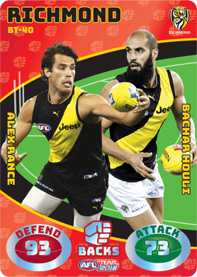 Rance & Houli, Battle Teams, 2018 Teamcoach AFL