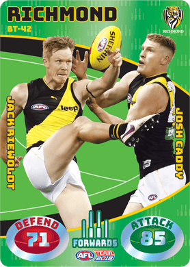 Riewoldt & Caddy, Battle Teams, 2018 Teamcoach AFL