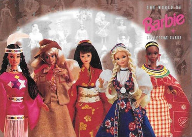 The World of Barbie Collector Cards, Base set of 100 cards, 1997 Tempo