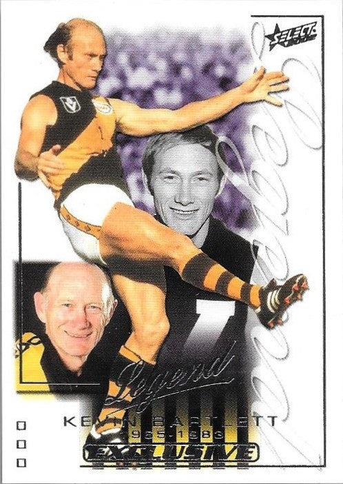 Kevin Bartlett, Legend, 2002 Select AFL Exclusive