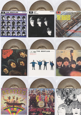 The Beatles, Gold Records card set, 1996 Apple Corp