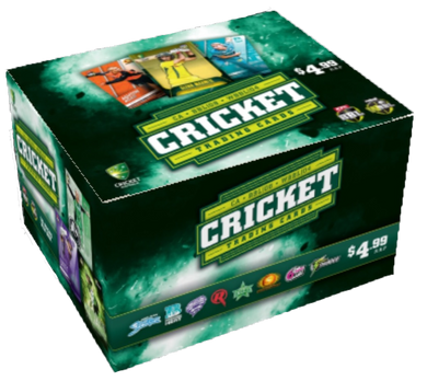 2018-19 TapnPlay BBL CA Cricket, 36 pack box