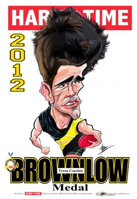 Trent Cotchin, 2012 Brownlow Harv Time Poster