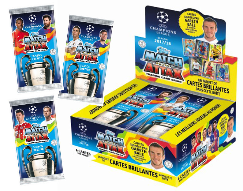2017-18 Topps Match Attax UEFA Champions League Pack