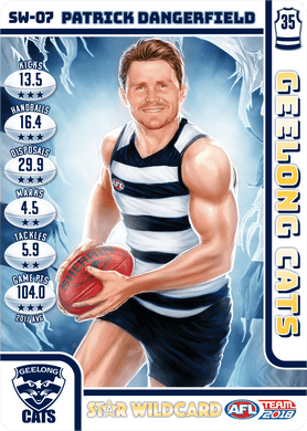 Patrick Dangerfield, Star Wildcard, 2018 Teamcoach AFL