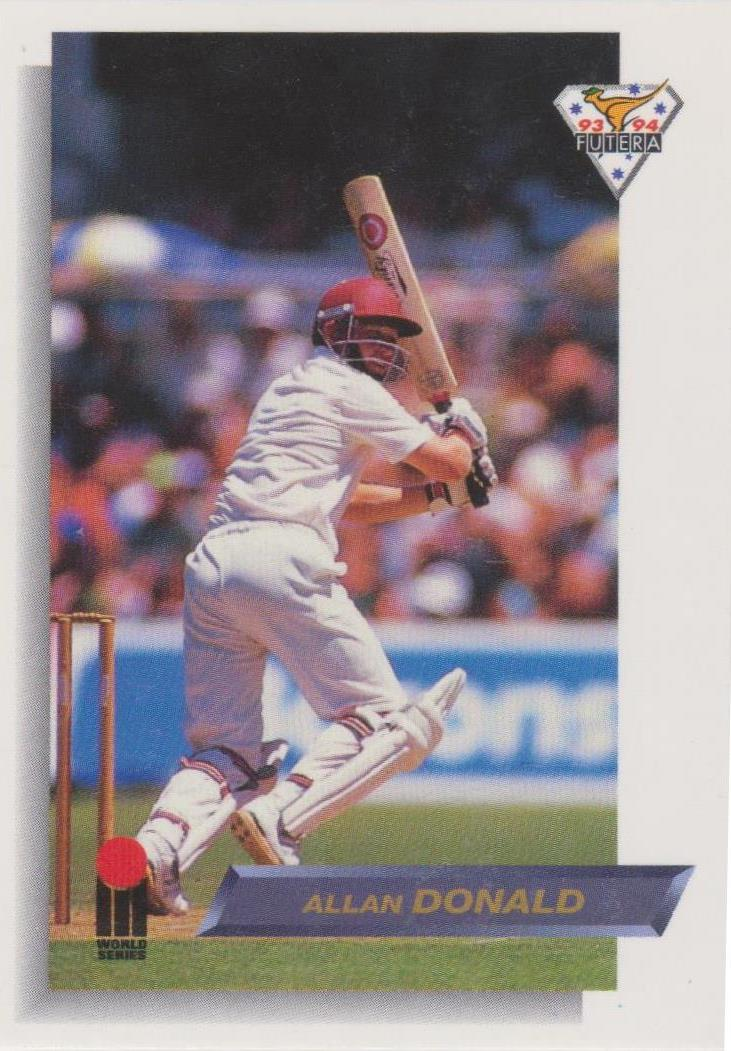Allan Donald, Common & Variant, 1993-94 Futera WSC Cricket