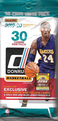 PANINI 2019-20 Donruss Basketball (Hobby) Fat Pack
