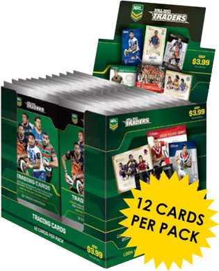 2013 Traders NRL 36 pack box
