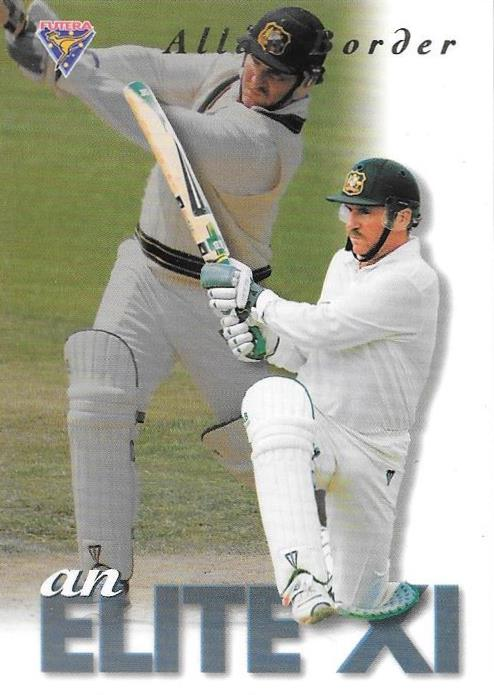 Allan Border, an Elite XI, 1994-95 Futera Cricket
