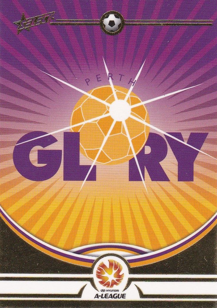 Perth Glory Logo card, 2006 Select A-League Soccer