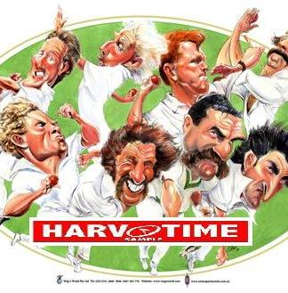 Fast Bowlers of Australian Cricket, Harv Time Poster