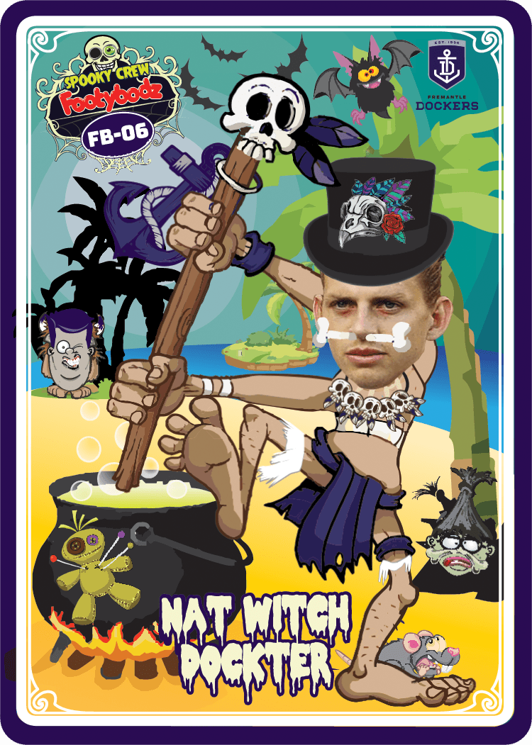 Nat Fyfe, Footy Bodz Spooky Crew, 2019 Teamcoach AFL