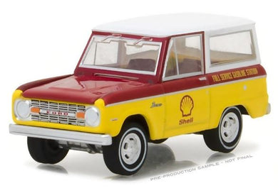 1967 Ford Bronco - Shell Oil, 1:64 Diecast Vehicle