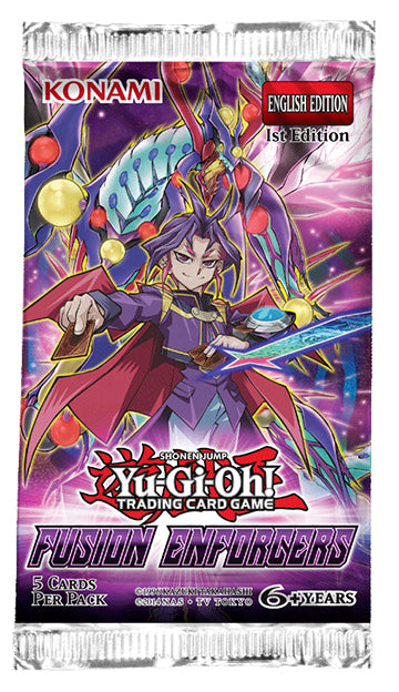 YU-GI-OH! TCG Fusion Enforcers Blister Pack