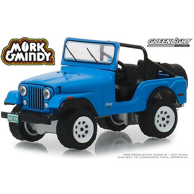 Mork & Mindy, 1972 Jeep CJ-5, 1:64 Diecast Vehicle