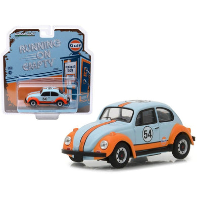 Gulf Oil, 1966 Volkswagen Beetle, Running on Empty Series, 1:43 Diecast Vehicle